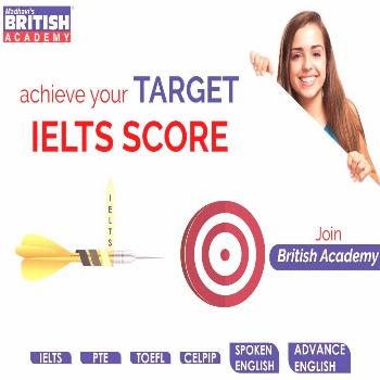 Achieve Your Target IELTS Score with Madhavi's British Academy Keep an eye on the target and you ca