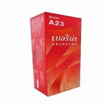 Berina (A23) Permanent Hair Color Dye Bright Red Color 1