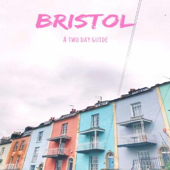Bristol city guide: a two day itinerary for Bristol England.