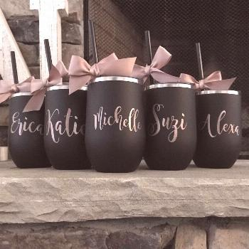 Excited to share this item from my shop: PERSONALIZED GIFTS, personalized tumbler, wine tumbler wit