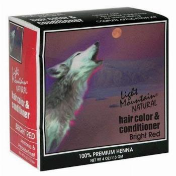 Hair Color Bright Red 4 OZ