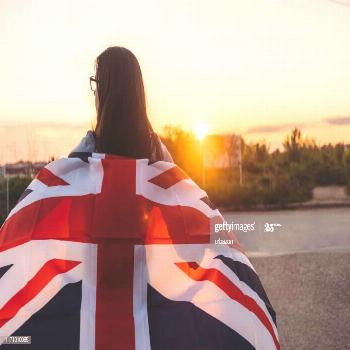 Spreading British Flag Photography ,