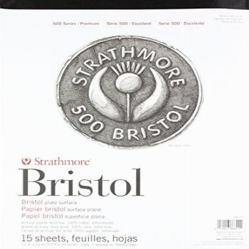 Strathmore (580-72 500 Series Bristol, 2-Ply Plate Surface,
