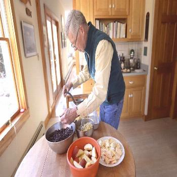 Vintage mincemeat recipe connects retired Maine clergyman to his English roots. mincemeatrecipe