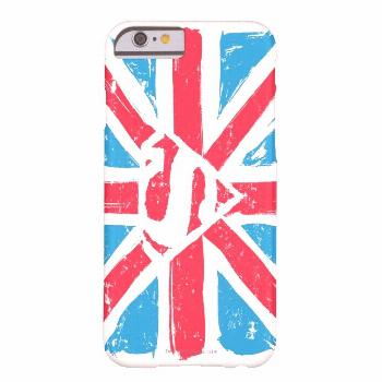 Worn S-Shield Over Flag Barely There iPhone 6 Case