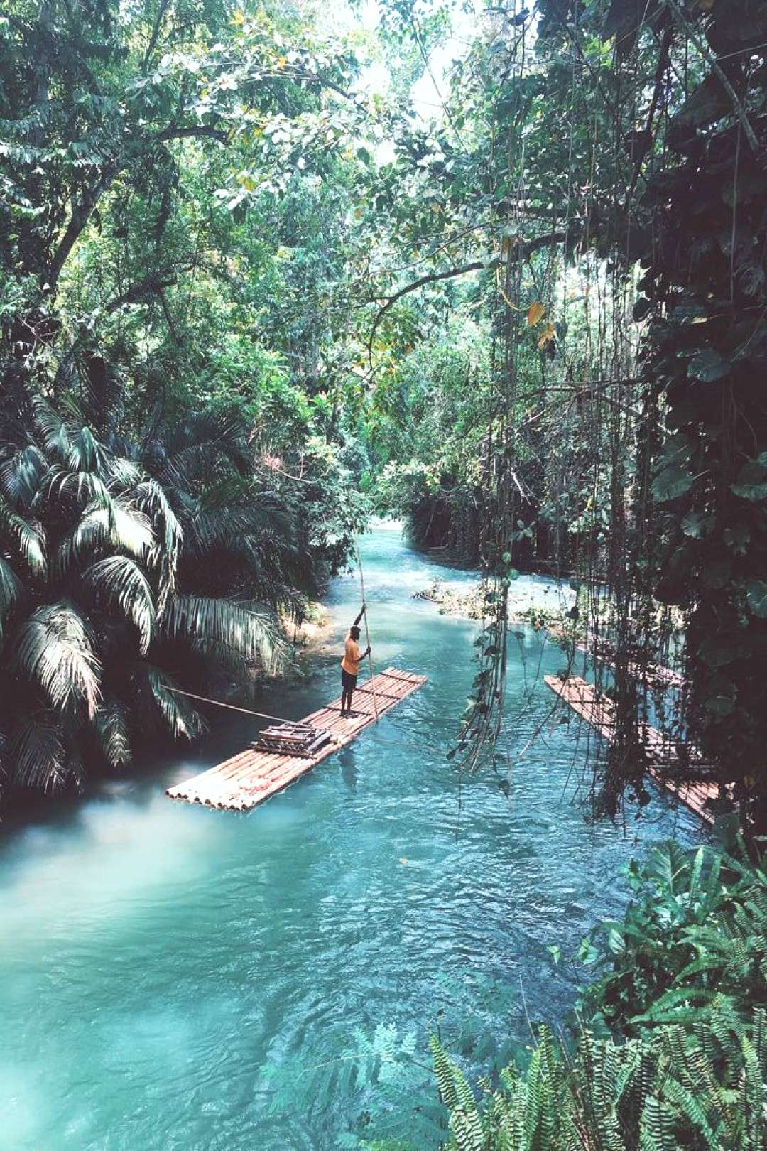 Like something out of Jungle Book on the other side of the world - it looks like a peaceful way to